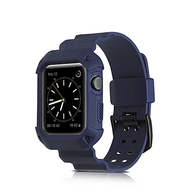 Uhrenarmband für Apple Watch Series 3 / 2 / 1 Apple Sport Band Silikon Handschlaufe
