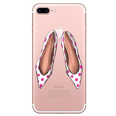 Für Apfel iphone 7 7 plus Fallabdeckung hohe Fersenmuster gemaltes hohes penetration tpu materielles weiches Falltelefonkasten für iphone