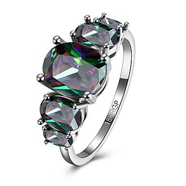 للمرأة مكعب زركونيا موضة زركون مجوهرات زفاف يوميا فضفاض المكتب & الوظيفة