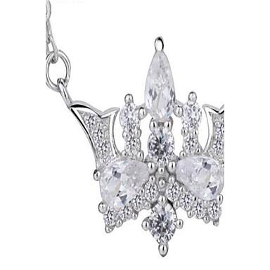 Dames Hangertjes ketting Sieraden Kroonvorm Legering Modieus PERSGepersonaliseerd Oversized Sieraden VoorBruiloft Feest Verjaardag