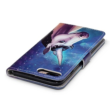 7 7 per Porta 7 Per Apple portafoglio 6s magnetica Integrale iPhone Unicorno 06150281 Custodia pelle sintetica 7 iPhone di iPhone Plus iPhone chiusura credito Con carte iPhone Plus A Plus Resistente F1qwWt