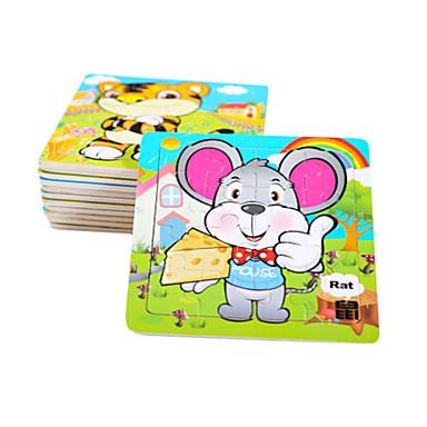 Puzzle Puzzle Lemn Jucării Educaționale Jucarii Mouse Fruct Lemn Unisex Bucăți