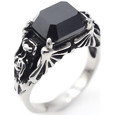 للرجال للمرأة يماني عقيق ترف أساسي الفولاذ المقاوم للصدأ مربع مجوهرات يوميا
