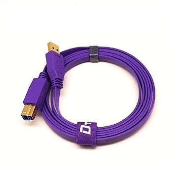 USB 3.0 Kabel, USB 3.0 to USB 3.0 Type B Kabel Mannelijk - Mannelijk 1.8M (6Ft)