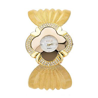 Pentru femei Ceas de Mână Ceas La Modă Quartz imitație de diamant Material Bandă Casual Argint Auriu