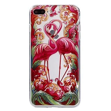Pentru Apple iphone 7plus 7 telefon caz tpu material flamingo seria telefon caz 6s plus 6plus 6s 6 se 5s 5