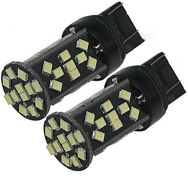 2pcs hohe Leistung weiß 5w t20 7443 w21w 48smd 2835 Chips 500lm LED Glühbirne Backup-Rückfahrleuchte dc12v