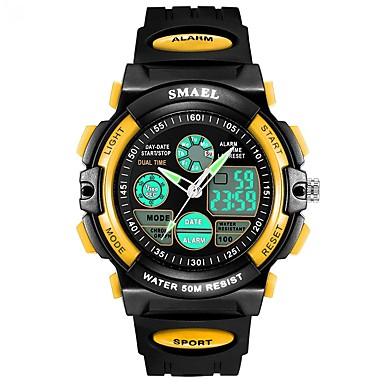 Heren Kwarts Digitaal Digitaal horloge Polshorloge Smart horloge Militair horloge Sporthorloge Chinees Alarm Kalender Waterbestendig LED