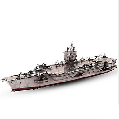3D - Puzzle Holzpuzzle Spielzeuge Kriegsschiff Flugzeugträger 3D Papier keine Angaben Jungen Stücke