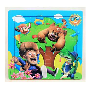 Holzpuzzle Steckpuzzles Zeichentrick Cartoon Shaped andere Spaß Klassisch 6 Jahre alt und höher