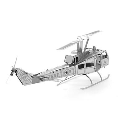 3D - Puzzle Holzpuzzle Metallpuzzle Spielzeuge Helikopter 3D Heimwerken Edelstahl Metal keine Angaben Stücke
