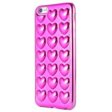 Caz pentru Apple iphone 7 plus iphone 7 acoperire acoperire model spate acoperă caz inima trup moale pentru iphone 6s plus iphone 6 plus