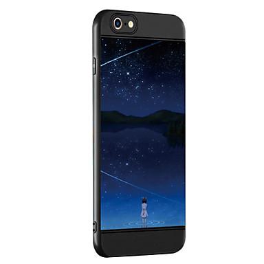 Caz pentru Apple iPhone 7 7 plus coperta caz model fată de îngroșare tpu material spray telefon caz pentru iphone 6 6s 6 plus 6s plus