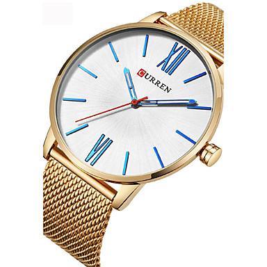 Bărbați Ceas Casual Ceas Sport Ceas La Modă Unic Creative ceas Chineză Quartz Rezistent la Apă Aliaj Bandă Creative Casual minimalist