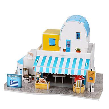 Puzzle 3D Puzzle Modelul de hârtie Clădire celebru Lemn natural Romantic Pentru copii Unisex Cadou