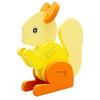 3D-puzzels Legpuzzel Speeltjes Dier 3D Hout Natuurlijk Hout Unisex Jongens Stuks