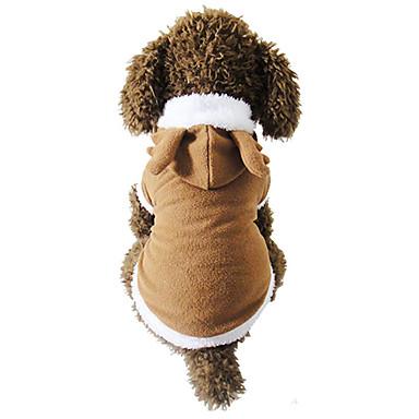 Câine Costume Îmbrăcăminte Câini Crăciun Crăciun Maro