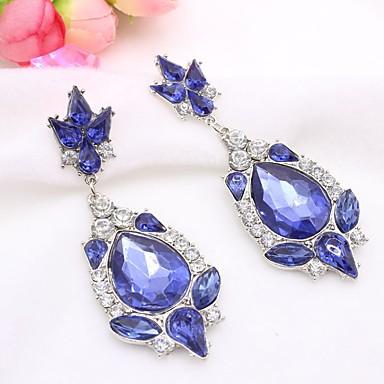 Pentru femei Cercei Picătură imitație de diamant La modă Personalizat Hipoalergenic Aliaj Picătură Bijuterii PentruNuntă Petrecere Zi de
