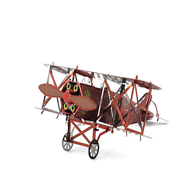 تركيب تركيب معدني طيارة المقاتل 3D مواد تأثيث اصنع بنفسك الفولاذ المقاوم للصدأ نحاس معدن للجنسين هدية
