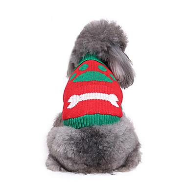 كلب البلوزات ملابس الكلاب كاجوال/يومي عظم كوستيوم للحيوانات الأليفة