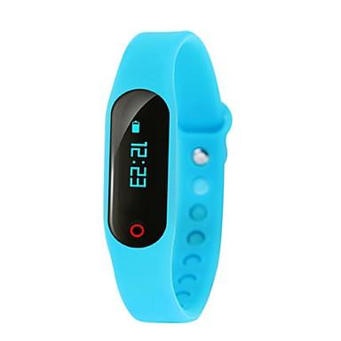 Heren Modieus horloge Digitaal Rubber Band Zwart Blauw Groen Roze Geel
