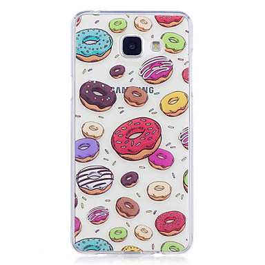 hoesje Voor Samsung Galaxy A5(2017) A3(2017) IMD Transparant Patroon Achterkantje Voedsel Zacht TPU voor A3 (2017) A5 (2017) A5(2016)