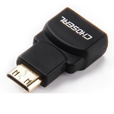 HDMI 1.4 شاحن, HDMI 1.4 to Mini HDMI شاحن ذكر - انثى النحاس المطلي بالذهب