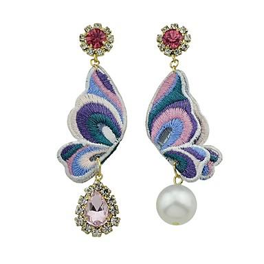 Pentru femei Cercei Picătură Bijuterii Design Basic stil minimalist Nepotrivirea La modă Adorabil Perle Aliaj Round Shape Bowknot Shape