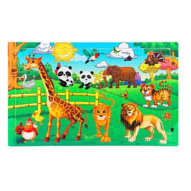Holzpuzzle Bildungsspielsachen Elefant Vogel Hühnchen Sonne Frucht andere Holz Anime Zeichentrick Unisex Geschenk