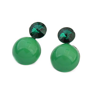 Pentru femei Cercei Stud imitație de diamant La modă Vintage Bohemia Stil Cute Stil stil minimalist Clasic Elegant Reșină Zirconiu Aliaj