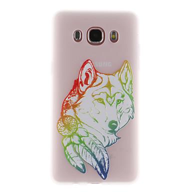 hoesje Voor Samsung Galaxy J7 (2017) J3 (2017) Doorzichtig Patroon Achterkant dier Zacht TPU voor J7 Prime J7 (2017) J7 (2016) J5 Prime