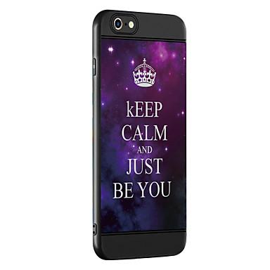 Case voor apple iphone 7 7 plus case cover letter patroon verdikking tpu materiaal spray telefoon hoesje voor iphone 6 6s 6 plus 6s plus