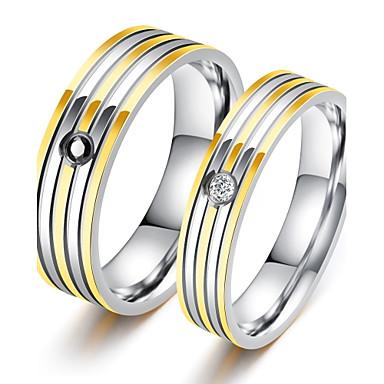 Bărbați Lux Zirconiu Cubic Band Ring - Circle Shape Lux / Clasic / Iubire Alb Inel Pentru Petrecere / Zi de Naștere / Cadou