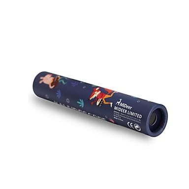 Kaleidoskop Spielzeuge Einfache Zylinderförmig Hirsch Papier Stücke Kinder Geschenk