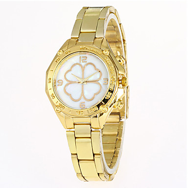 Pentru femei Unic Creative ceas Ceas de Mână Ceas Militar Ceas La Modă Ceas Sport Ceas Casual Quartz Oțel inoxidabil Bandă Charm Lux