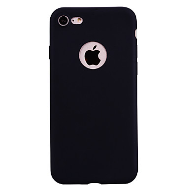 Caz pentru Apple iphone 7 plus caz acoperă noul ton mai gros tpu materiale bomboane culoare seria moale cazul caz telefon pentru iphone 7