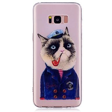 Maska Pentru Samsung Galaxy S8 Plus S8 IMD Model Carcasă Spate Pisica Moale TPU pentru S8 S8 Plus
