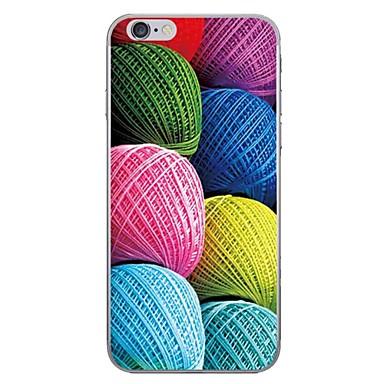 Case voor apple iphone 7 7 plus case cover kleur zijde patroon hd geschilderd dikker tpu materiaal zacht geval telefoon hoesje voor iphone