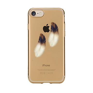 Maska Pentru Apple iPhone 7 Plus iPhone 7 Transparent Model Capac Spate Pene Moale TPU pentru iPhone 7 Plus iPhone 7 iPhone 6s Plus