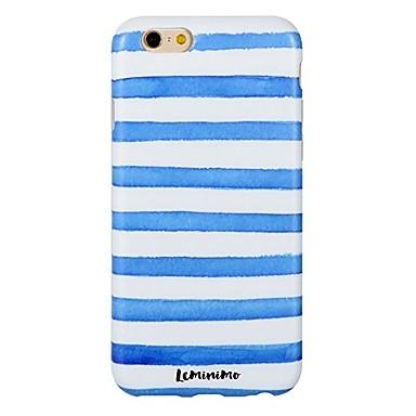 Caz pentru iphone 7 6 valuri tpu soft ultra-subțire spate cover case acoperă iphone 7 plus 6 6s plus se 5s 5 5c 4s 4