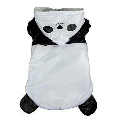 Câine Costume Îmbrăcăminte Câini Cosplay Animal Negru/Alb