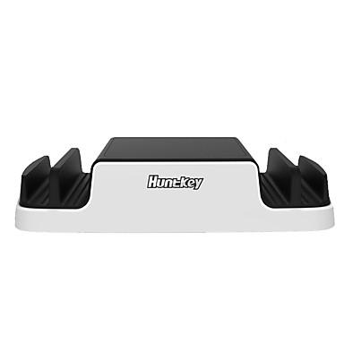 Încărcător USB 4 porturi Stație încărcător de birou Cu identificare inteligentă Stand Dock Cu cabluri de încărcare Universal Adaptor de