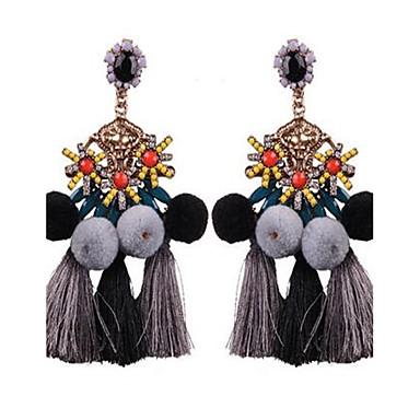 Damen Tropfen-Ohrringe Modisch Vintage überdimensional Aleación Geometrische Form Kugel Schmuck Für Normal Bühne Ausgehen