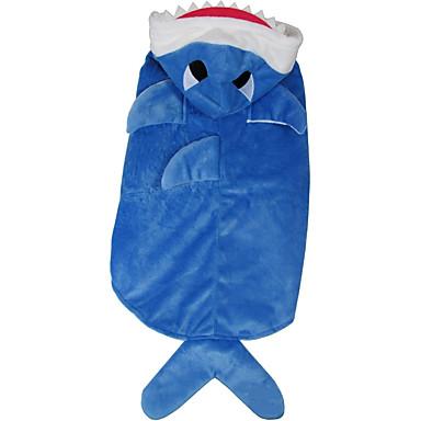 Câine Costume Îmbrăcăminte Câini Cosplay Animal Albastru Costume Pentru animale de companie
