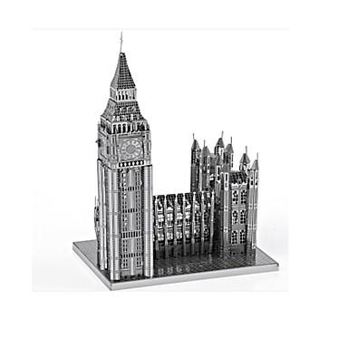 Legpuzzel Metalen puzzels Speeltjes Beroemd gebouw 3D DHZ Legering Niet gespecificeerd Stuks