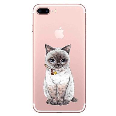 Für Apfel iphone 7 7 plus Fallabdeckungs-Katzenmuster gemaltes hohes penetration tpu materieller weicher Falltelefonkasten für iphone 6s 6