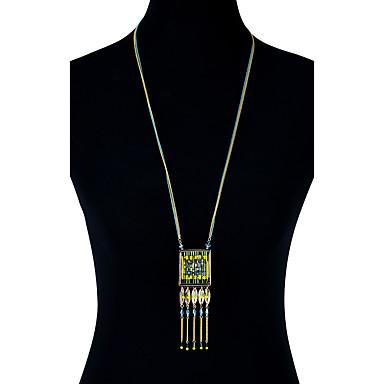 Pentru femei Lux Boem Coliere  -  Lux Boem Confecționat Manual Geometric Shape Auriu Coliere Pentru Petrecere Zi de Naștere Logodnă