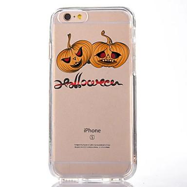 Maska Pentru Apple iPhone 7 Plus iPhone 7 Transparent Model Capac Spate Hrană Halloween Desene Animate Moale TPU pentru iPhone 7 Plus