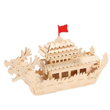 Puzzle 3D Puzzle Modele de Lemn Clădire celebru Casă Arhitectură 3D Lemn Lemn natural Băieți Unisex Cadou