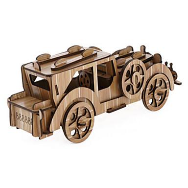 3D - Puzzle Holzpuzzle Holzmodelle Auto Holz Naturholz Kinder Unisex Geschenk